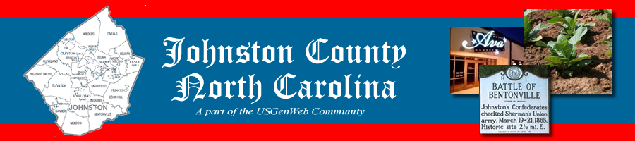 Johnston County Genealogy - Part of the NC GenWeb Community